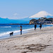 Mt. Fuji view from the Shichirigahama beach : 七里ガ浜より富士山展望