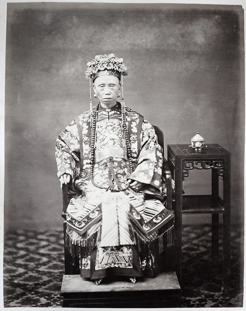 Hotz collection: Mandarin's Wife, by Milton M. Miller, ca. 1861-63