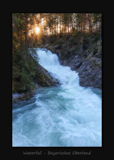 Obernachkanal Waterfall