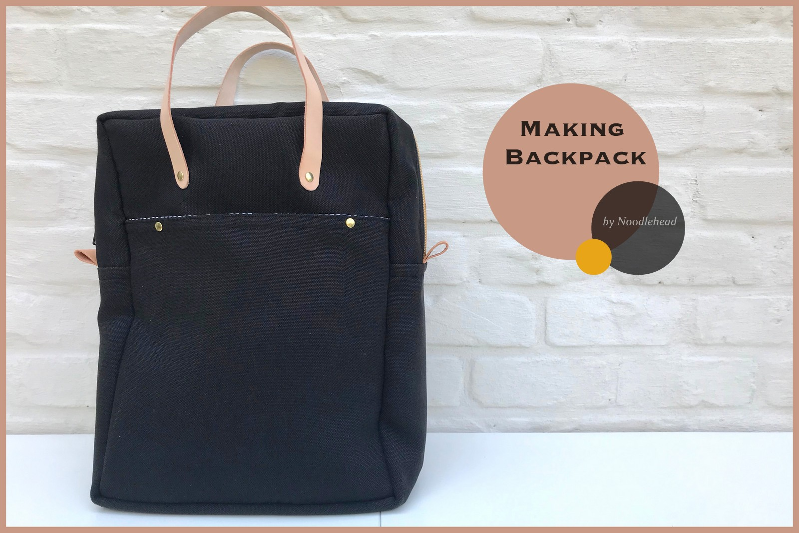 making backpack