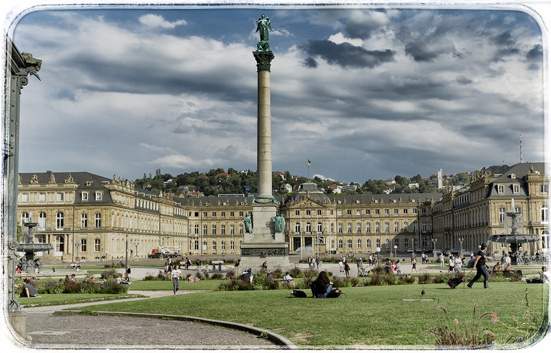Das neue schloss von stuttgart (New Palace of Stuttgart)