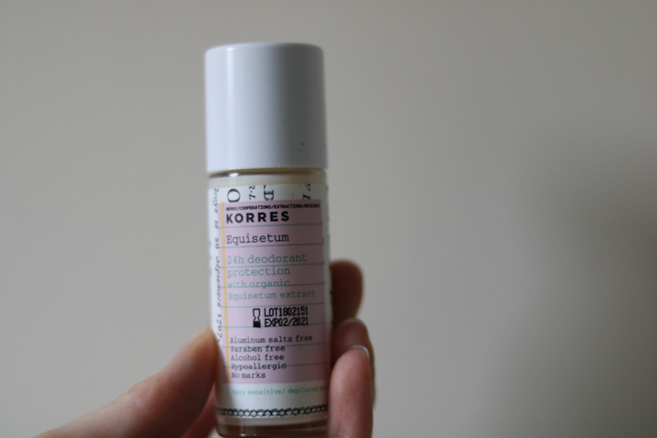 Korres Kb Deodorant Equisetum