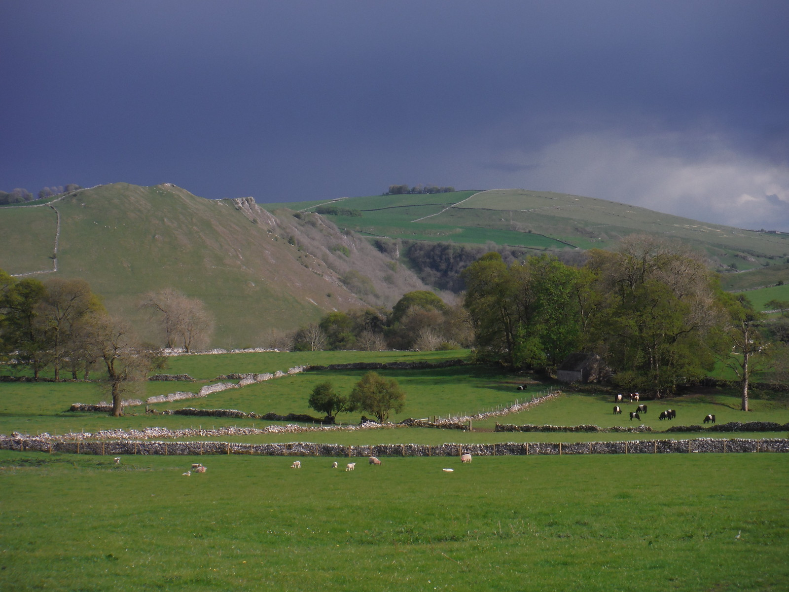 Hills above Dovedale from near Alstonefield SWC Walk 326 - Dovedale (Ashbourne Circular) [Long Version via Alstonefield]