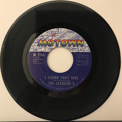 THE JACKSON 5:THE LOVE YOU SAVE(RECORD SIDE-B)