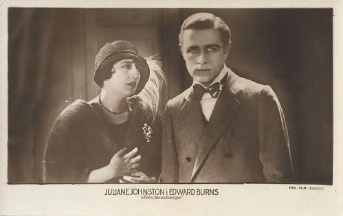 Julanne Johnston and Edward Burns in Garragan (1924)