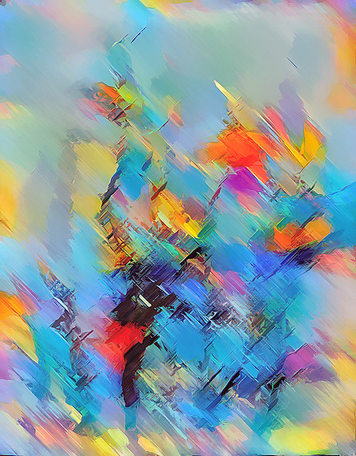Joyful abstract