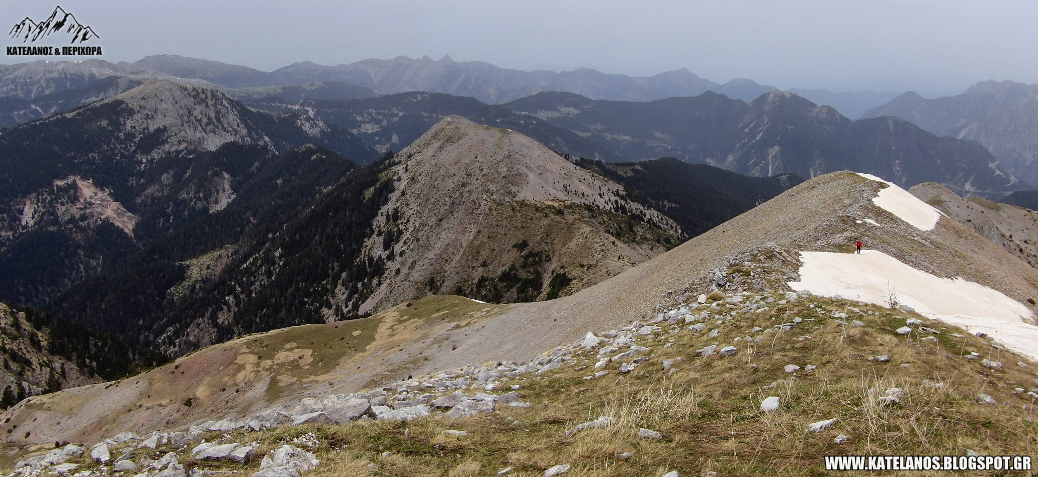 mountain panaitoliko summits