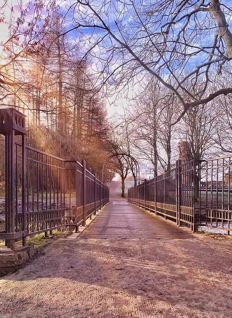 Walk into the light....