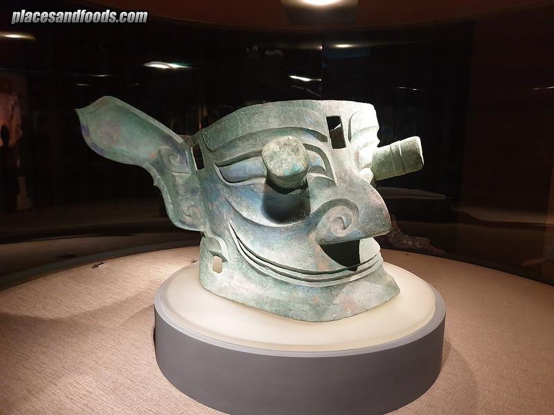china alien mask