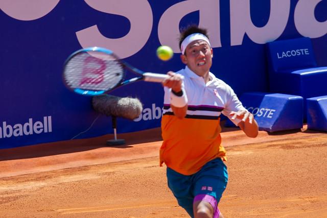 Kei Nishikori, Barcelona Open 2019