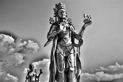 Bodhisattvas and clouds
