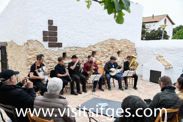 🎷 JAZZ AL CARRER AMB JAS BAND - FESTIVAL JAZZ ANTIC SITGES 2019