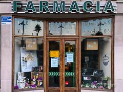 Farmacia de 1806 en Santander.