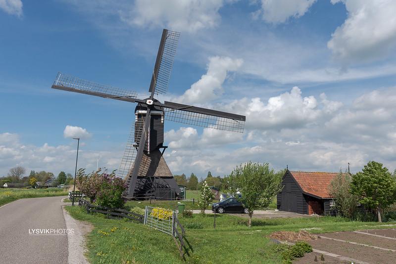 Scheiwijkse molen in Hoornaar