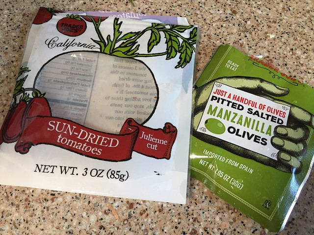 Sun-Dried Tomatoes / Manzanilla olives