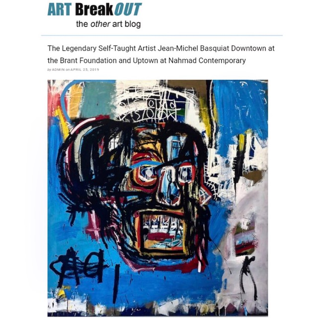 Basquiat at the Brant Foundation & at Nahmad Contemporary