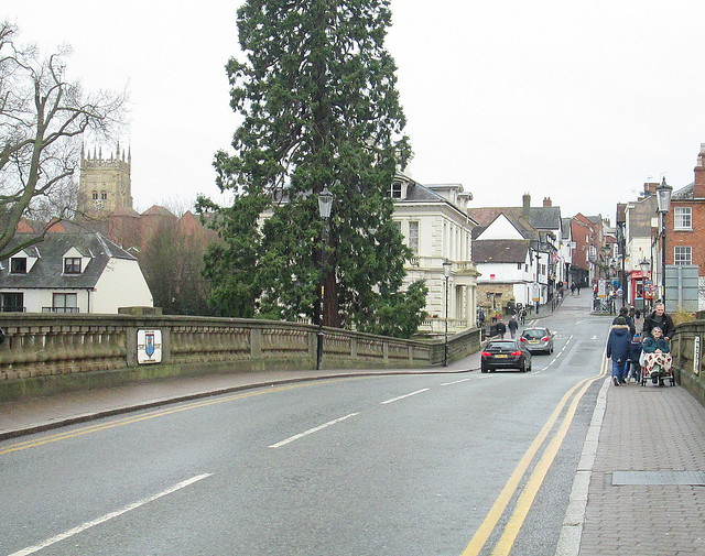 Roadway, Workman Bridge, Evesham