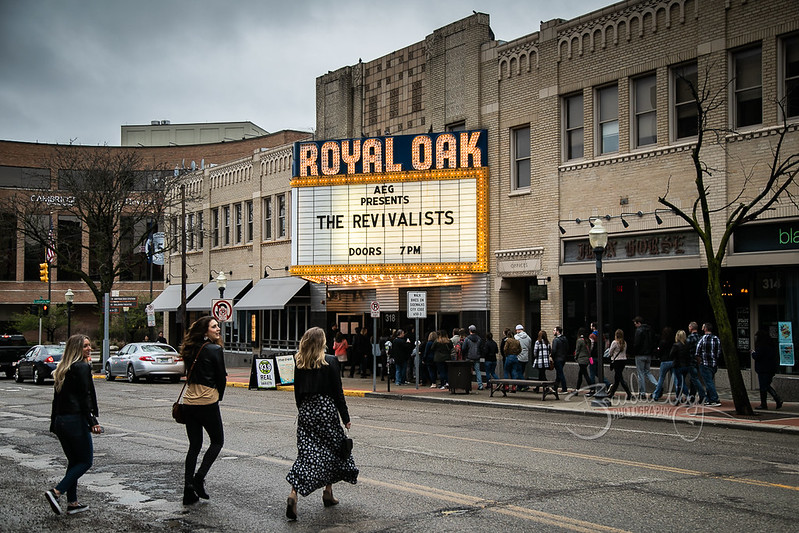 The Revivalists in concert, Royal Oak Music Theater, Royal Oak, USA - 20 April 2019