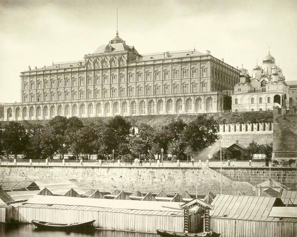 Большой Кремлевский дворец. 1884