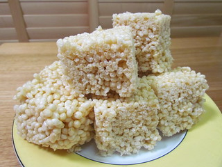 Big Fat Rice Crispy Squares