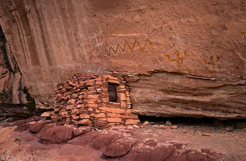 Ruin & Pictographs
