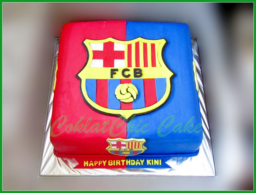 Cake Barca KINI 30 cm