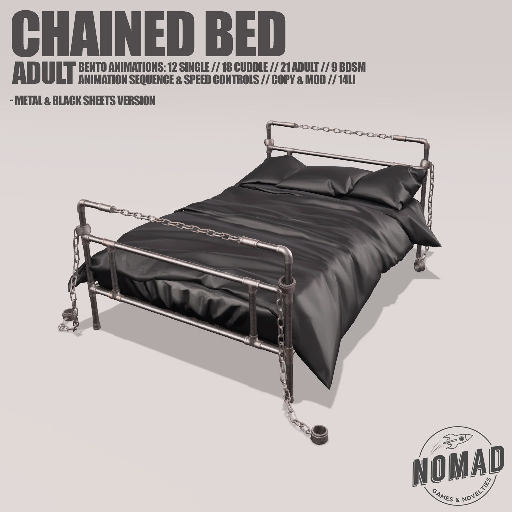 NOMAD // CHAINED BED @ Kinky Event!