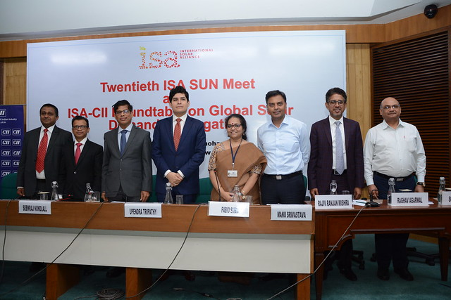 ISA's Role in Global Solar Demand Aggregation and Market Creation Roundtable 1: Industry Action
