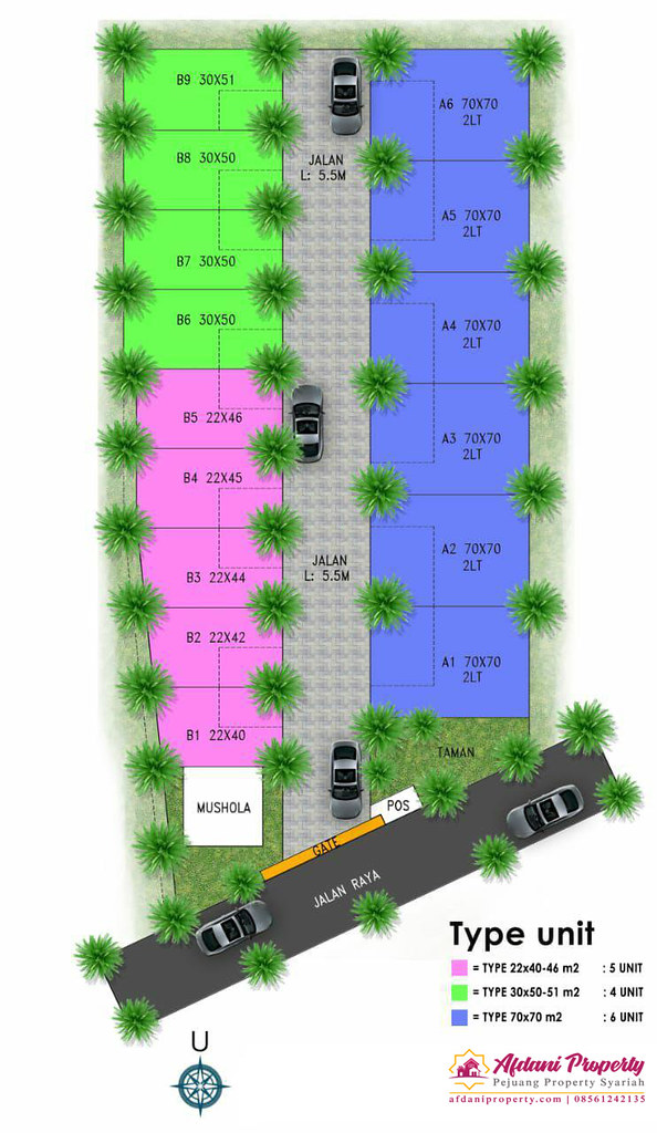 Siteplan Taman Cagak Nirvana Subang