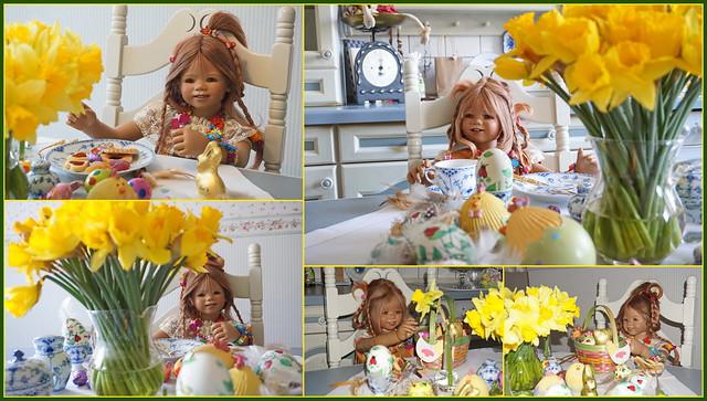 💚🐰 Einen schönen Ostermontag ... mit Anne-Moni und Tivi 🐰💚