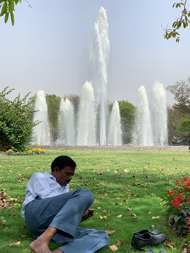 City Hangout - Water Fountain, Gole Park, Windsor Place