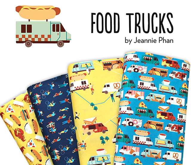Paintbrush Studio Fabrics Food Trucks