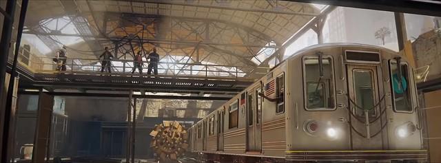 World War Z - Train Depot