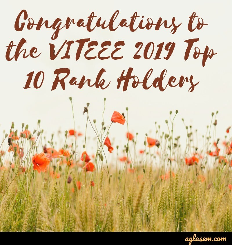 VITTEE 2019 Result Announced; Check your Result online at vit.ac.in