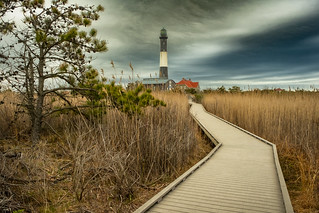 The Path To Fire Island Lighthouse