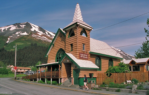 Alaska: Seward Coffee House art gallery