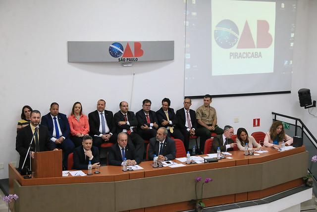 05.02.2019 - Posse da diretoria da Subseção de Piracicaba