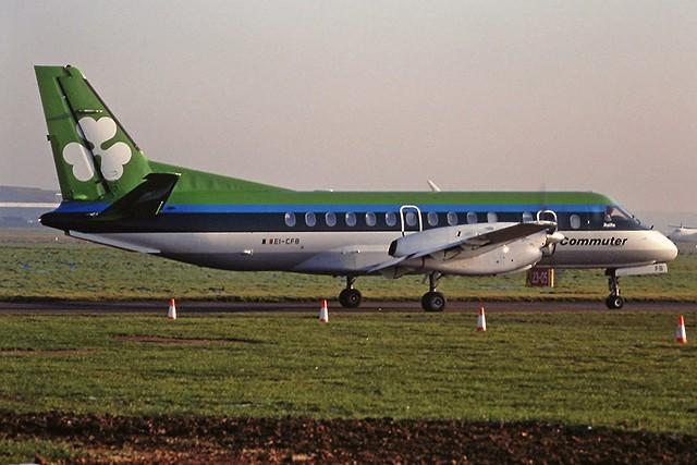 EI-CFB Saab 340 Aer lingus CVT 10-92