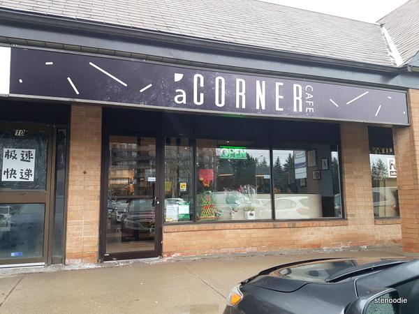 A Corner Cafe storefront