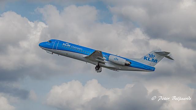 PH-KZB  Fokker F70 - KLM Cityhopper