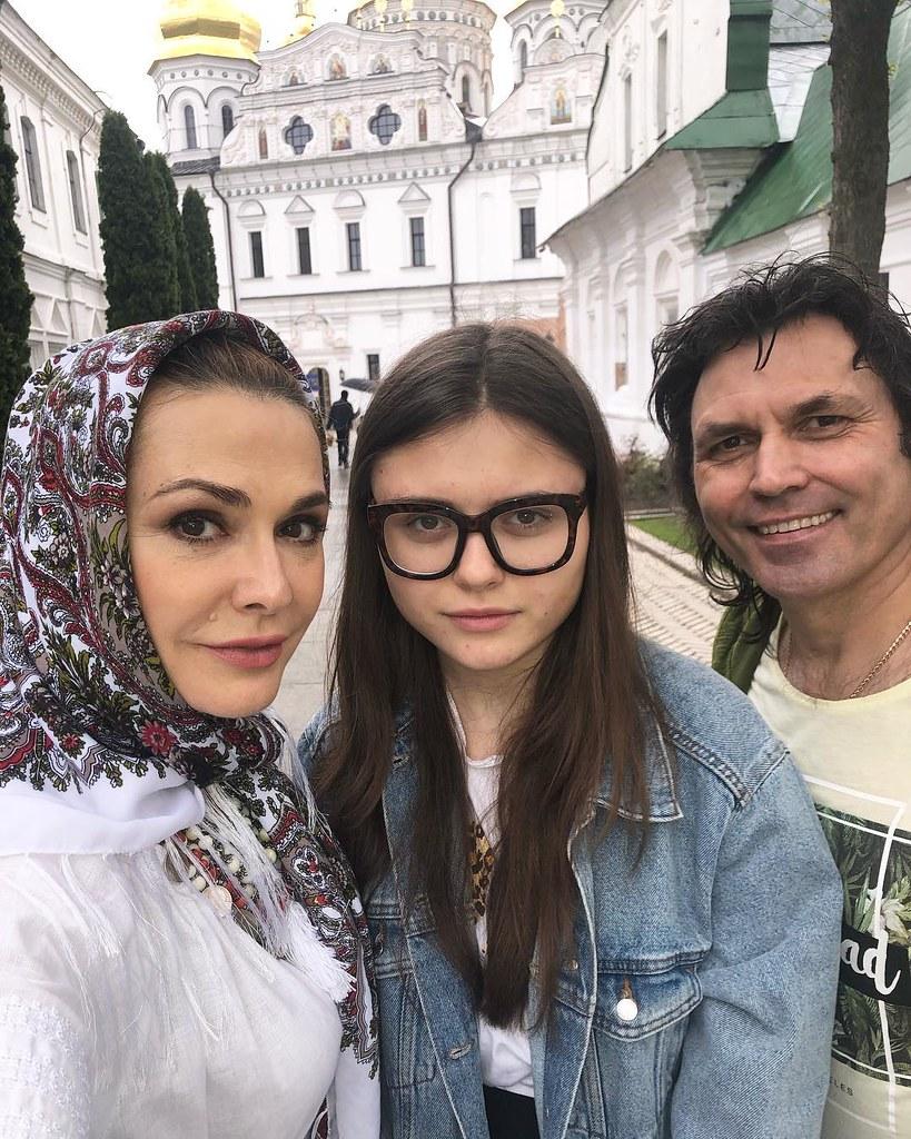 Ольга Сумская с родными
