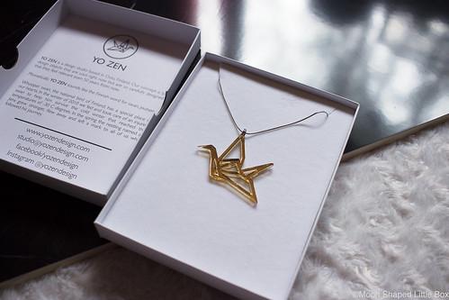 YO_ZEN_origami_joutsen_kaulakoru