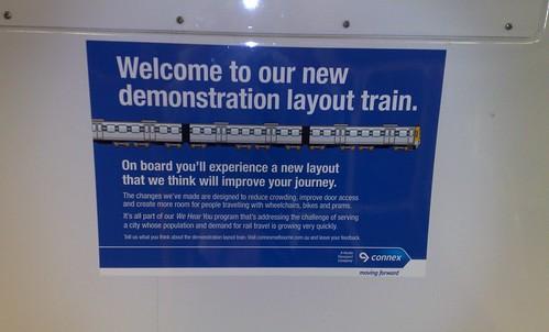2009 Connex demonstration train layout