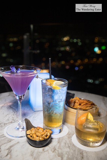 "Our cocktails - Shanghai, The City ""Upon the Sea"", Chinese Highball, and Shanghainese Fashion"