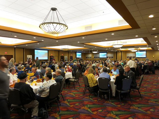 2019 National Wrestling Hall of Fame, Minnesota Chapter Banquet at the Austin Holiday Inn Conference Center. 190427AJF0820