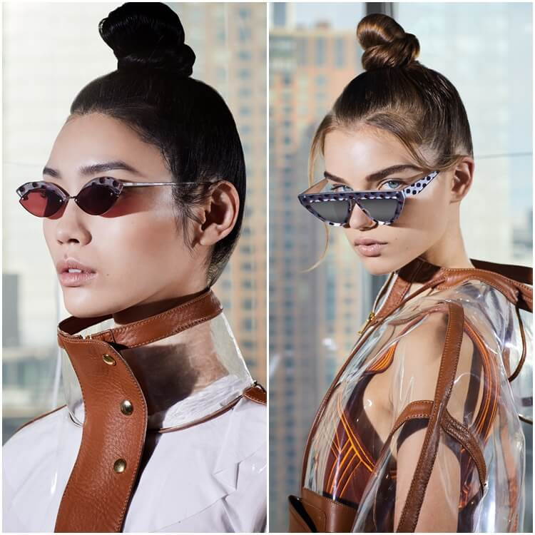 Koleksi kacamata hitam Fendi Defender