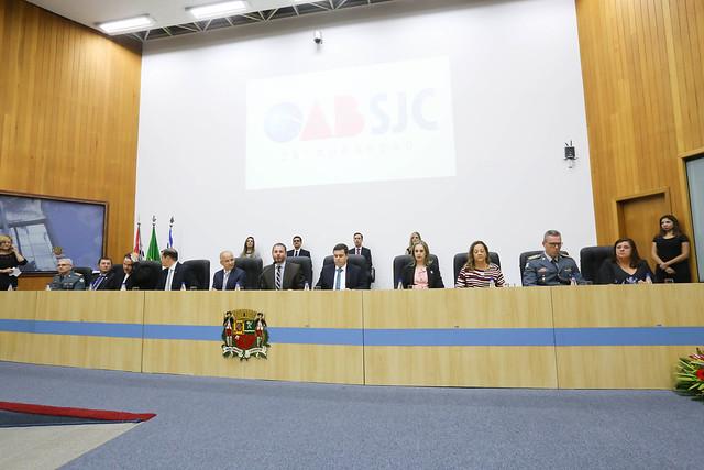 27.02.2019 - Posse da diretoria da Subseção de São José dos Campos