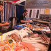 The excellent fish stall at Cambridge market Sat 20 Apr 19:...