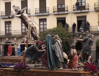 La Elevación de laCruz. Cofradía de Jesús Nazareno. Zamora