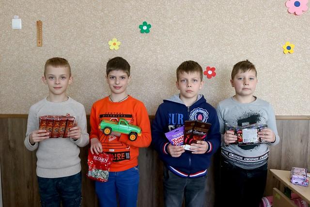 """Благодійна акція """"Діти Кривбасу - дітям Донбасу"""", 3-А, 19.04.19"""